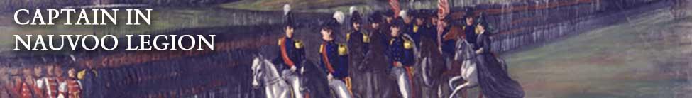 Captain in Nauvoo Legion