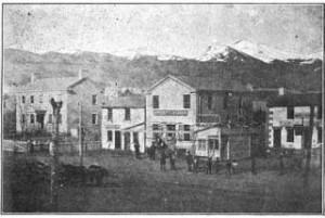 Street  that Egan Family lived on in 1860